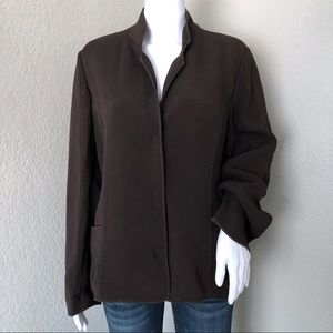 Eileen Fisher Blazer Jacket Textured Lagenlook